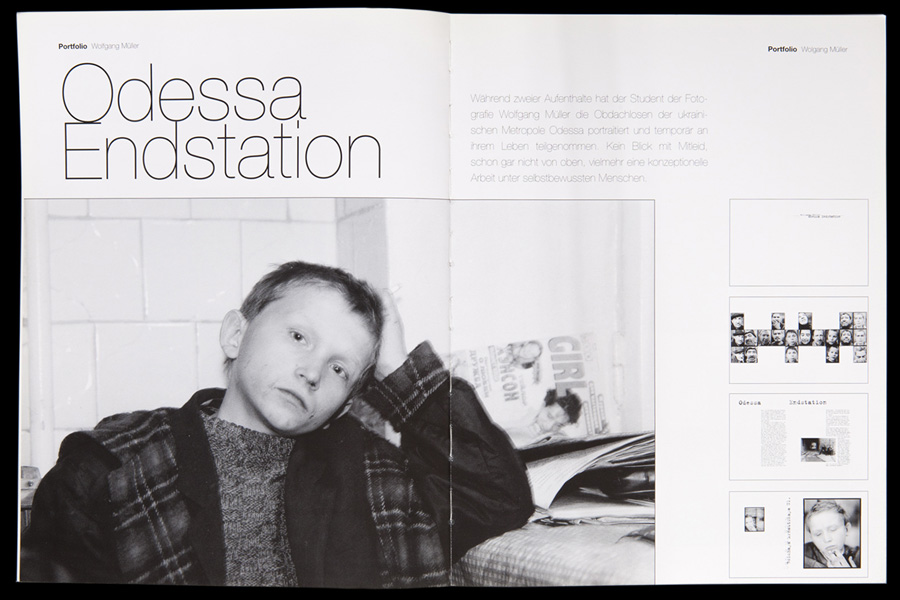 Odessa Endstation | SCHWARZWEISS 04 | 2000