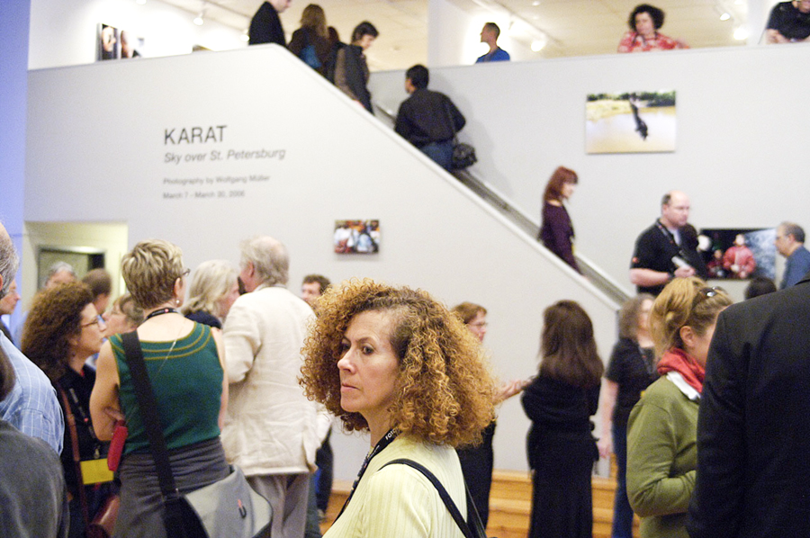 "FotoFest ""Artists Responding to Violence"" | Karat. Sky over St. Petersburg | Houston 2006"